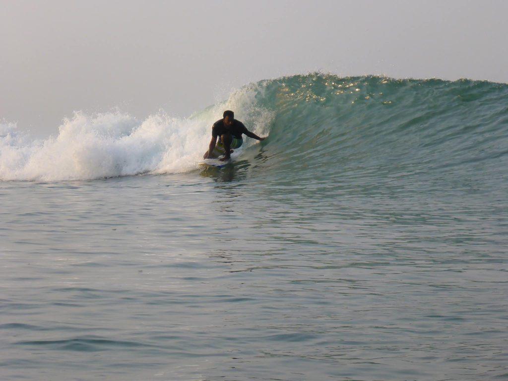 Surfing Sunil