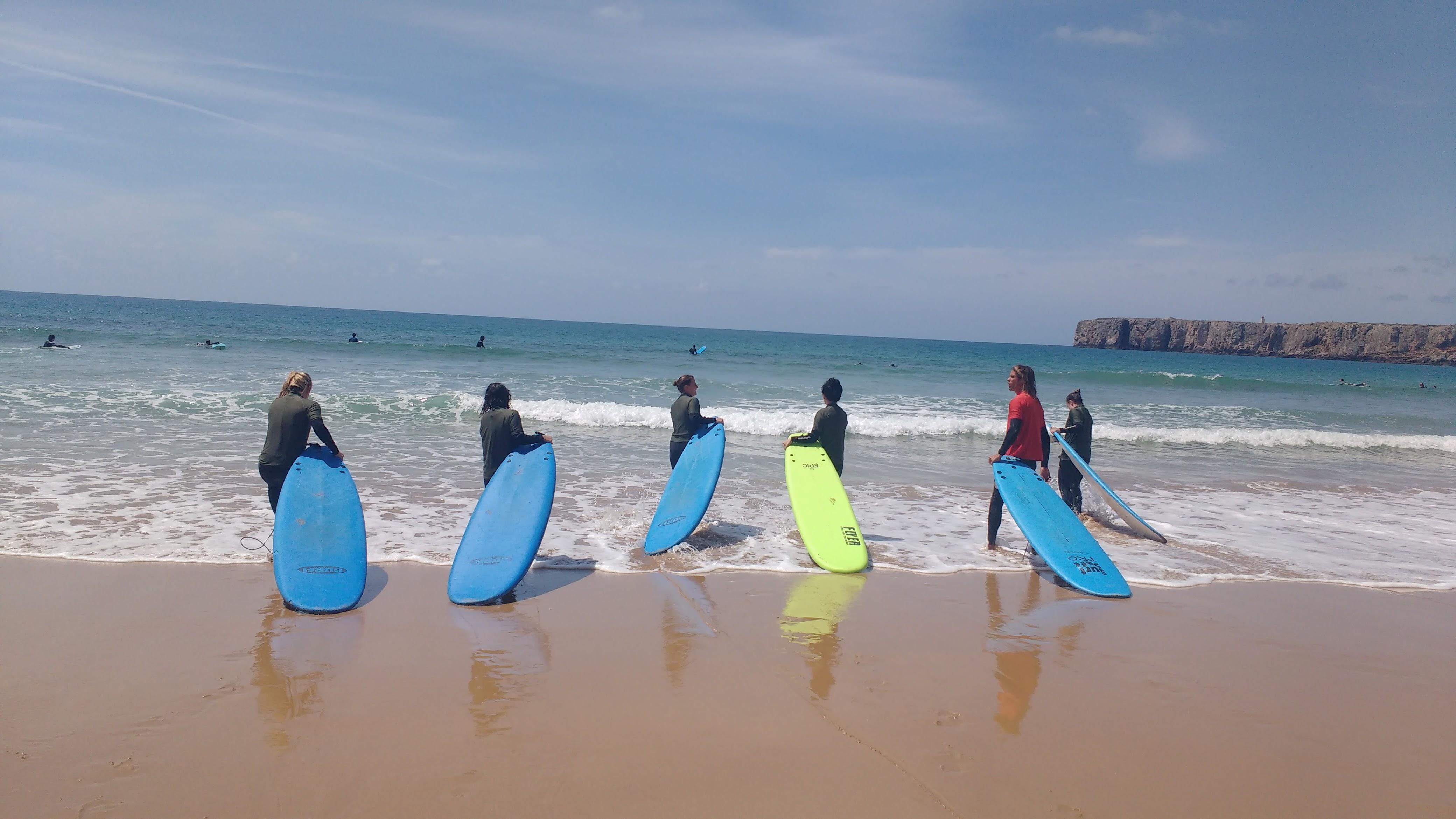 surf saltwater yoga Portugal retreat