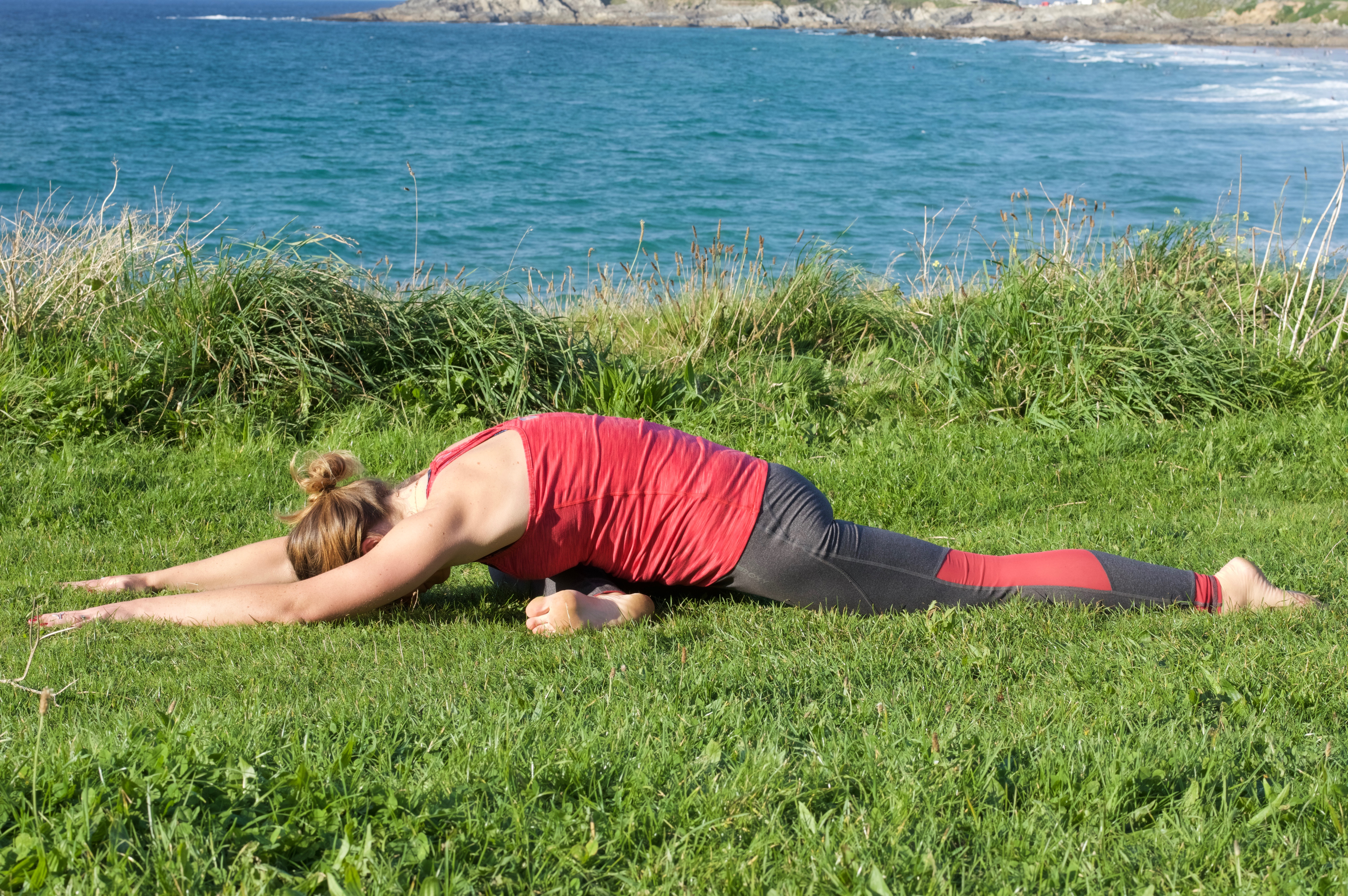 Yin Yoga Restorative Relax Newquay Cornwall Saltwater Yoga Class