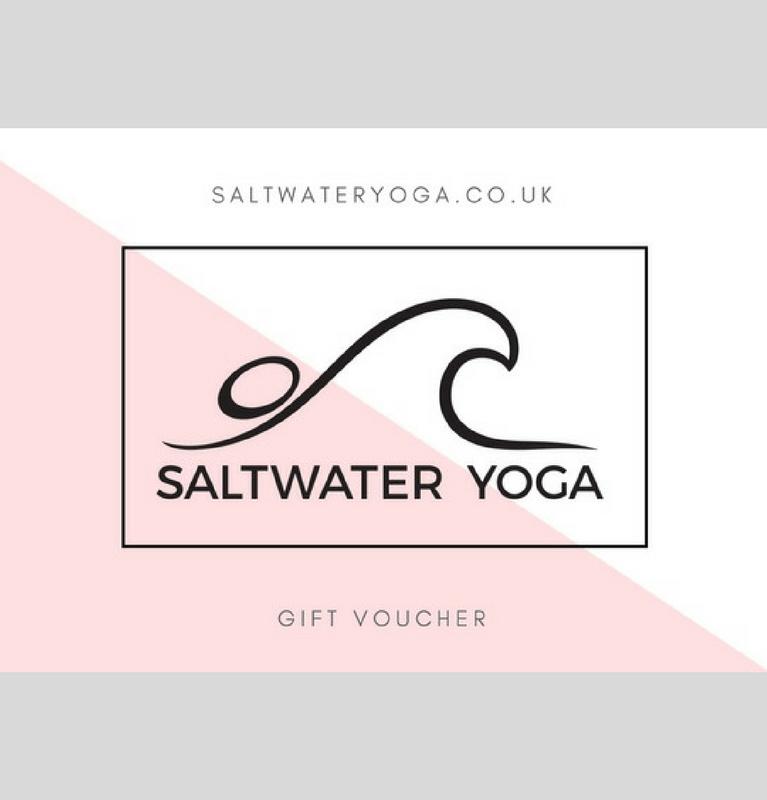 Saltwater Yoga Gift Voucher