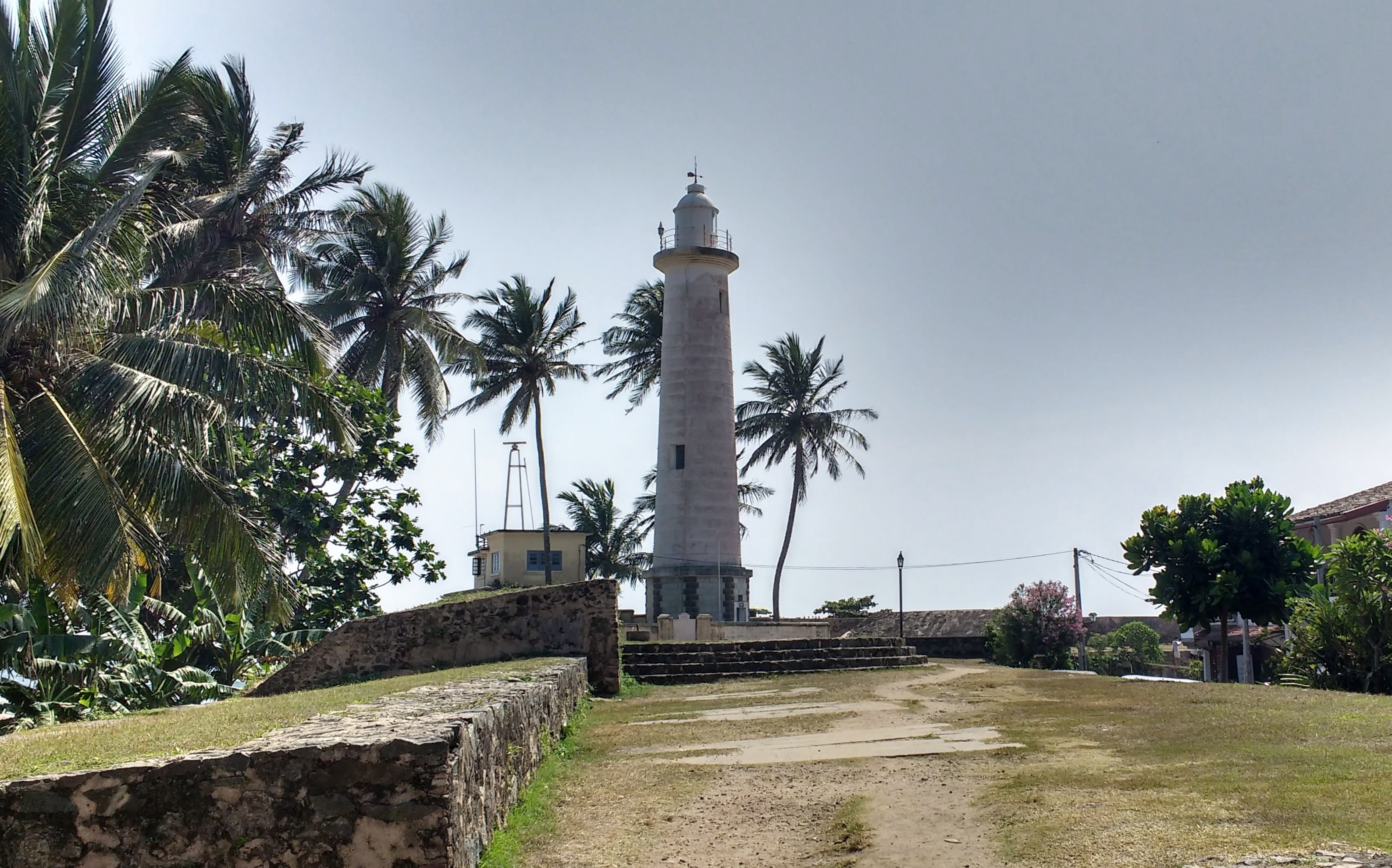 Galle Fort Lighthouse Saltwater Yoga Rachel Lingham Sri Lanka