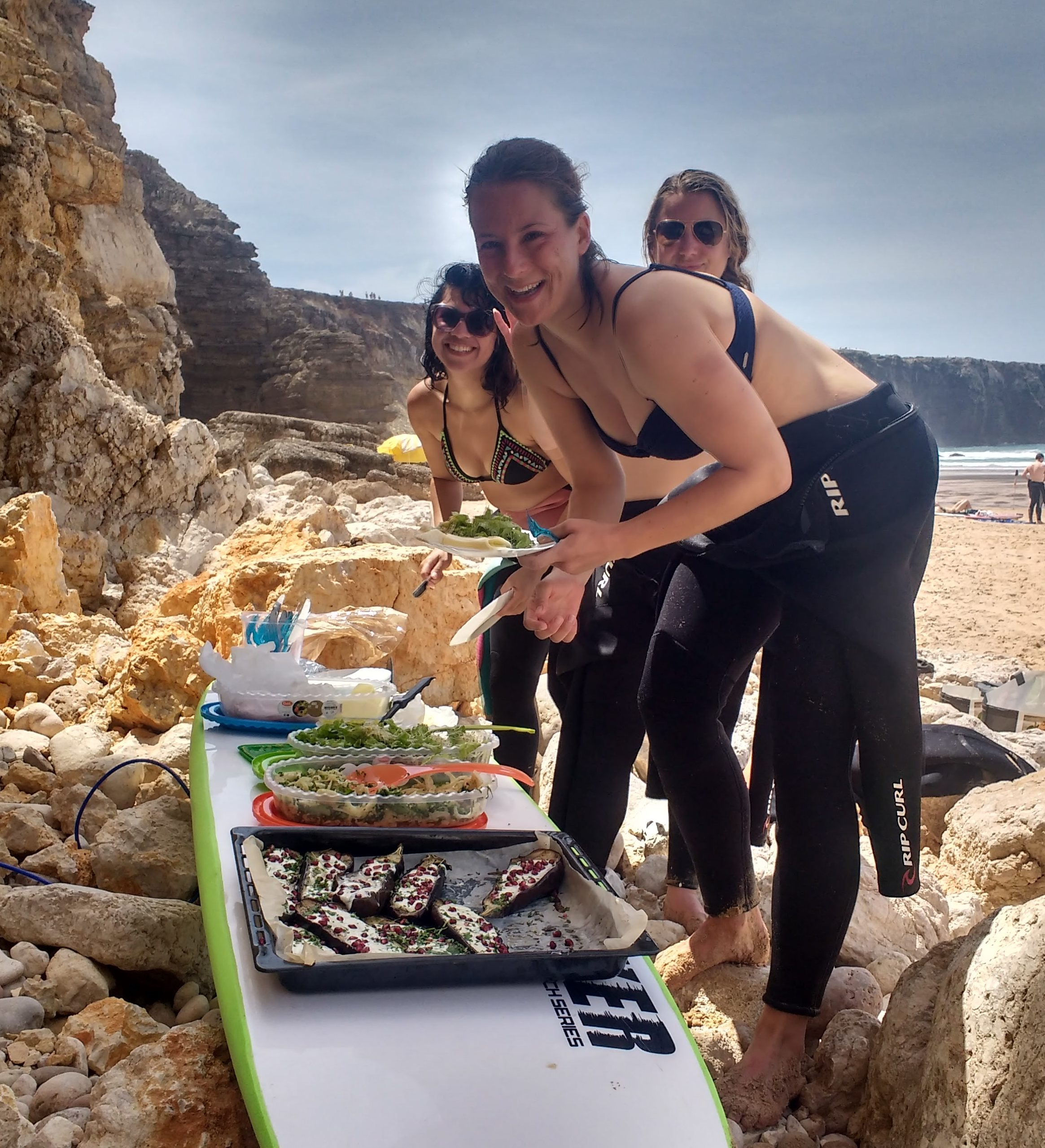 surf yoga portugal retreat saltwater yoga waves soul